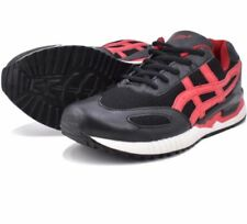 Tanggo Kent Fashion Sneakers Casual Shoes for Men (black/red) - Size 39