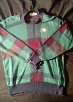 Vintage USA Lion's Pride Scottish style men's long sleeve XXL sweater 🦁🦁🦁