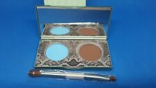 MALLY Evercolor Modern Matte Eyeshadow Duo EARTH (Brown) SKY (Blue) NIB