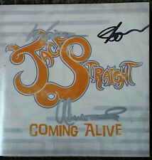 Jack Straight Coming Alive CD 2009 Signed Country Music Out Of Print Rare!