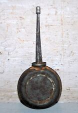 Vintage India Old Steel Hardware Auto Oil Dispenser Pot