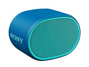 Sony SRS/XB01 Blue Extra Bass Portable Bluetooth Wireless Speaker