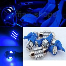 12V Blue Interior LED Light Package 7PCS Kit Fit Chrysler 300 300C 2005-2010