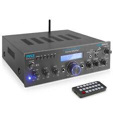 Pyle Pda5Bu.0 Home Bluetooth Amplifier Receiver with Fm Radio, Mp3/Usb/Sd/Aux