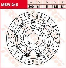 disque de frein avant  TRW  MSW 215  Ø300  KAWASAKI  ZR-7  750 ZEPHYR   GPZ 1100