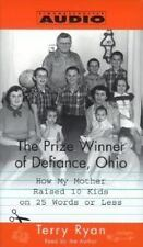 The Prize Winner of Defiance, Ohio by Terry Ryan. NEW (audio book, cassett)