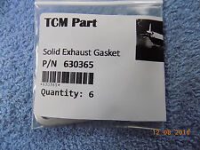 New Tcm Pn#630365 Solid Exhaust Gasket (Sold 6 to a package)