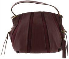 Aimee Kestenberg Pebble Leather & Suede Hobo Tuscany Mahogany # A282316