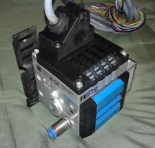 Festo CPV10-VI 18200 Valve Terminal + CPV10-GE-MP-4 18253 Electrical Connection