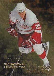 1998-99 Be A Player National Atlanta Gold #50 Darren McCarty