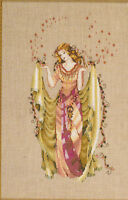 Mirabilia NC cross stitch patter Forest Goddess MD 87 2005  Fantasy woman