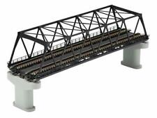 Tomix 3257 Double Track Truss Bridge Set (F) w/2 Piers (Brown) (N scale)