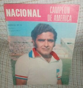 Small magazine about the club Nacional de Montevideo  Champion of America 1971,