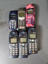 6 Nokia Vintage Mobile Phones Joblot UNTESTED 5110, 5130, 6210, 3510i