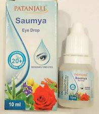10ml Patanjali SAUMYA EYE DROPS Ayurvedic Divya Saumya Drops