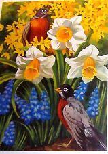 Garden Delights - Spring Arrivals 750 Piece Puzzle - Nancy Wernersbach