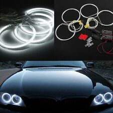 Car CCFL LED Angel Eyes Halo Rings for BMW E36 E38 E39 E46 White 4x*131mm