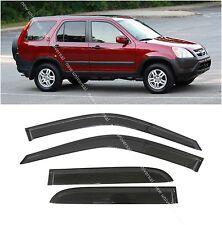 Window Visors Sun Rain Wind Guard for Honda CRV CR-V 2002-2006