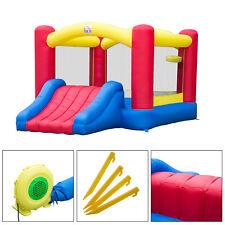 HOMCOM Castillo Hinchable Infantil Juego para Niños de 3-10 Años 366x274x183cm