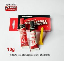 Multibond Super Strong STEEL EPOXY 4 Minutes Adhesive Glue Metal Wood masonry10g