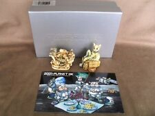 Harmony Kingdom 2001 Royal Watch Collector's Club Minx On The Moon Wolfie Space