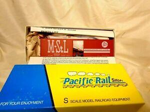 Pacific Rail Shops Minneapolis & St Louis 1937 ARR Boxcar #54614  / S Gauge /
