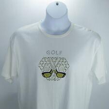 Paradise Bay Women Golf Sport Top XL Austrian Lead Crystal Metallic Embroideries