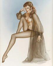 ALBERTO VARGAS 8X10 PIN-UP GIRL ART PRINT R_1581