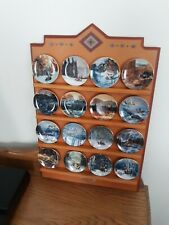 Bradford Exchange Julie Kramer Cole Faces of the Spirits 16 Miniature Plates