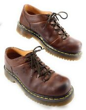 Dr Martens AirWair Peanut Oxford Shoes Grizzly Brown Leather Women's 7 US 38 EUR