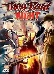 They Raid by Night DVD Lyle Talbot, June Duprez Early Vintage War Movie Rare