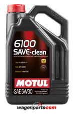 Aceite Motor Motul 6100 SAVE-CLEAN 5W30 C2 Fuel Eco DPF, 5 Lts