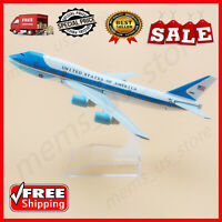 American Air Force One Airlines 16cm Boeing 747 B747 Child Airplane Model Plane