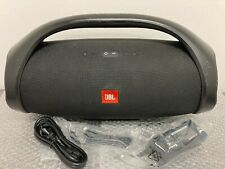 JBL - Boombox Portable Bluetooth Speaker - Black