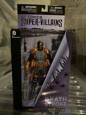 DC Comics DC Super Villains Deathstroke Collector Action Figure