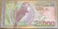 Suriname Surinam 25000 Gulden 2000 Gebruikt/Used