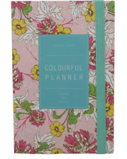 Colourful Monthly Weekly and Daily Planner (multicolor)