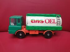 "LKW MS 25 Tankwagen ""OEL GAS' MSB GDR DDR PLASTIC TINTOY 1974-86 missing wheel"