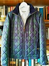 Husky RALPH LAUREN™ ®, Mujer, Talla M, Clasic navy blue-green Scotch pattern.