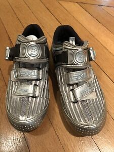 Cycling Shoes Bontrager RXL Road WSD 37.5 Eur 6.5 US Silver Peloton, Soulcycle