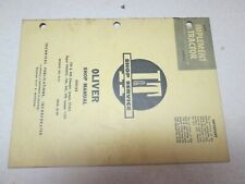 Oliver 99 950 990 995 770 880 Tractor Iampt Service Manual
