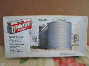 Walthers, Cornerstone, HO, 933-3123, Grain Bin Kit, Mint, Sealed in OB.
