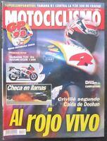 REVISTA MOTOCICLISMO,AÑO 1998,NUMERO 1592, Criville segundo,Caida de Doohan