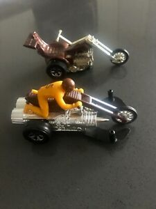 Hot Wheels Chopcycles  Sizzler 1971 lot of 2