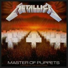 "Metallica "" Master of Puppets "" Patch/Sew-on Patch 602391 #"