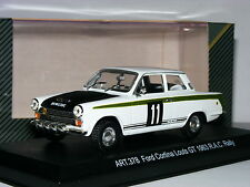 Detail Cars ART378 Lotus Cortina NVW 239C 1966 RAC Rally #11 1/43