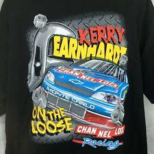 Kerry Earnhardt TShirt Sz XL Nascar Channel Lock On the Loose Black #40 NEW