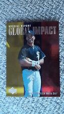 Ozzie Guillen 1996 Upper Deck Card [Global Impact #206]