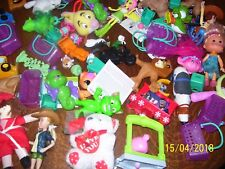 BIG LOT OF BOYS & GIRLS SMALL TOYS, VARIETY MIX, CARS, DOLLS, ANIMALS, MISSIONS