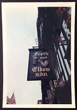 "Froth and Elbow STRATFORD-UPON-AVON 1964 PHOTOGRAPH 5"" x 3.5"" Pub Sign 405"